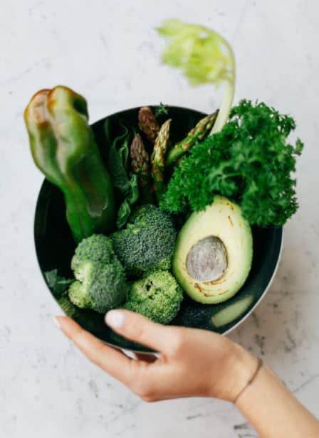 urban farm vegetables
