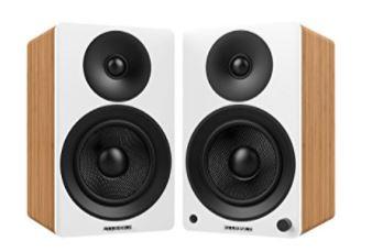 """Fluance Ai40W Powered Two-Way 5"""" 2.0 Bookshelf Speakers"""