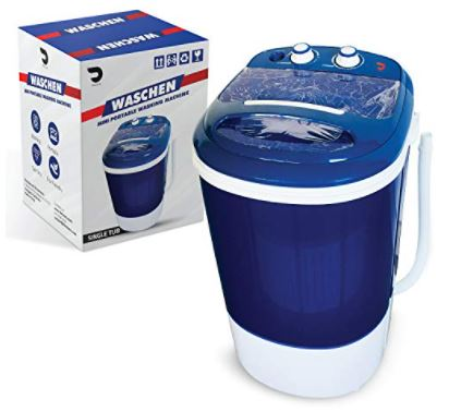 Portable Single Tub Washer And Spin Dryer