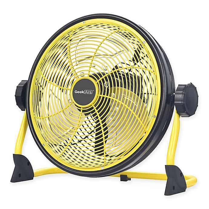 Geek Aire Rechargeable Floor Fan