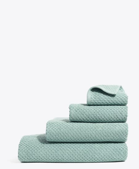 Pact: Waffle Bath Towels
