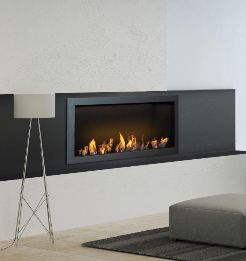 wall ethanol fireplace