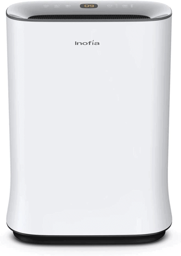 Inofia 800 Sq Ft Air Purifier with True HEPA Air Filter