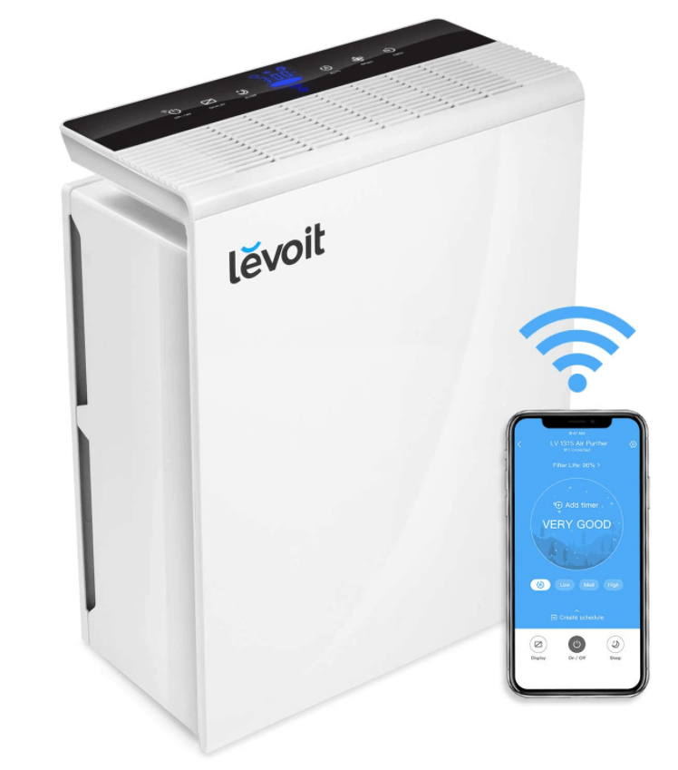 LEVOIT Smart Wi-Fi Air Purifier Large Room