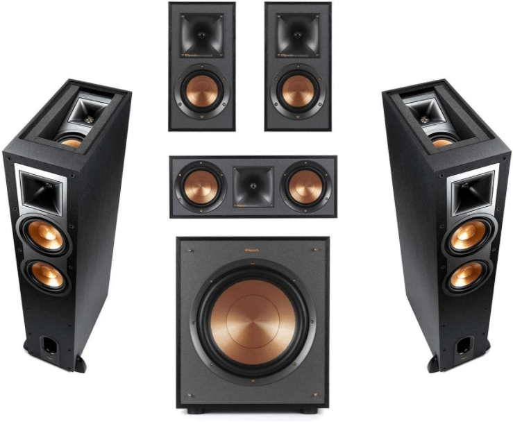Klipsch Reference R-26FA 5.1 Home Theater Pack