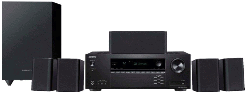 Onkyo HTS3901 Home Audio Theater